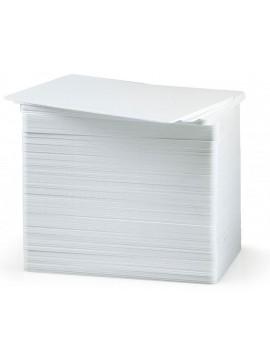 Zebracard 104523-111 CR-80 Premier Pac Blank Card, 30 mil, White (Pack of 500)