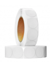 RF White Label Round 30mm (Box of 20 Rolls of 1000 Labels)