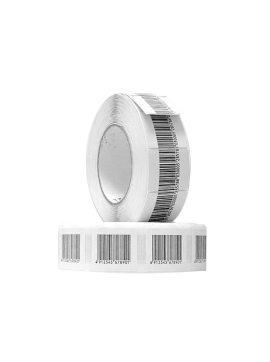 RF Barcode Label 40*40mm (Box of 20 Rolls of 1000 Labels)