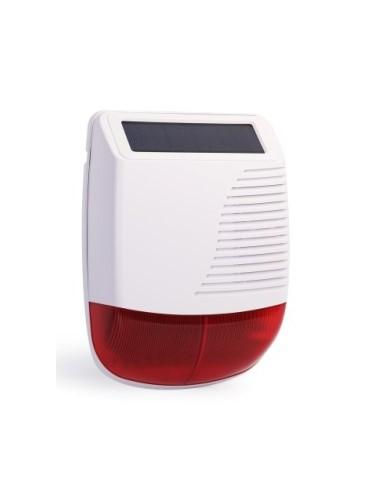 PE-520 Wireless outdoor multi-use solar powered siren