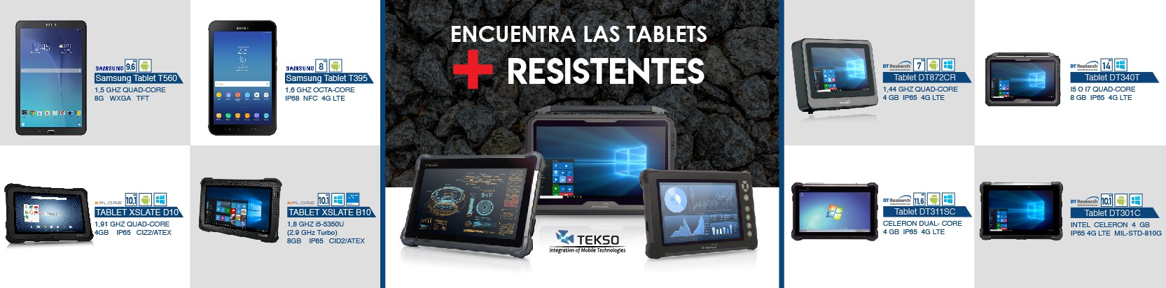 Tablets rugged
